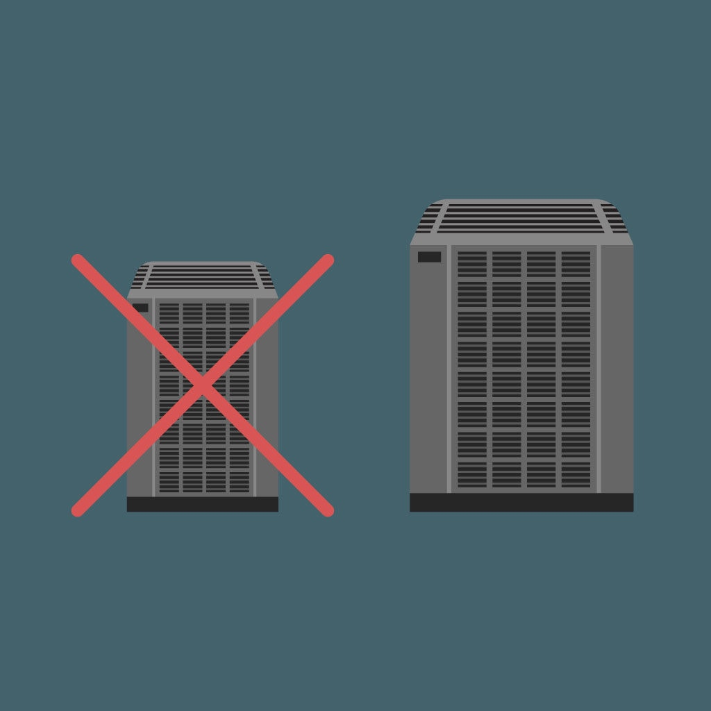 How to avoid the common mistakes made when purchasing a new AC.